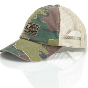 POLO RALPH LAUREN Green Camo Mesh Trucker Hat